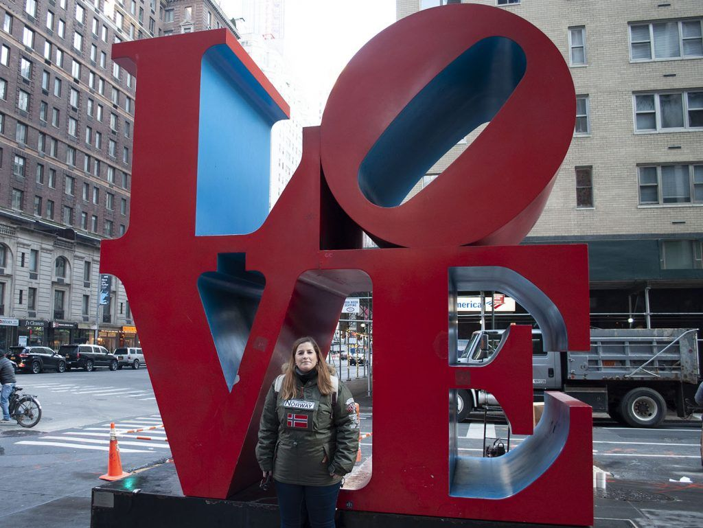 Midtown: Escultura de LOVE