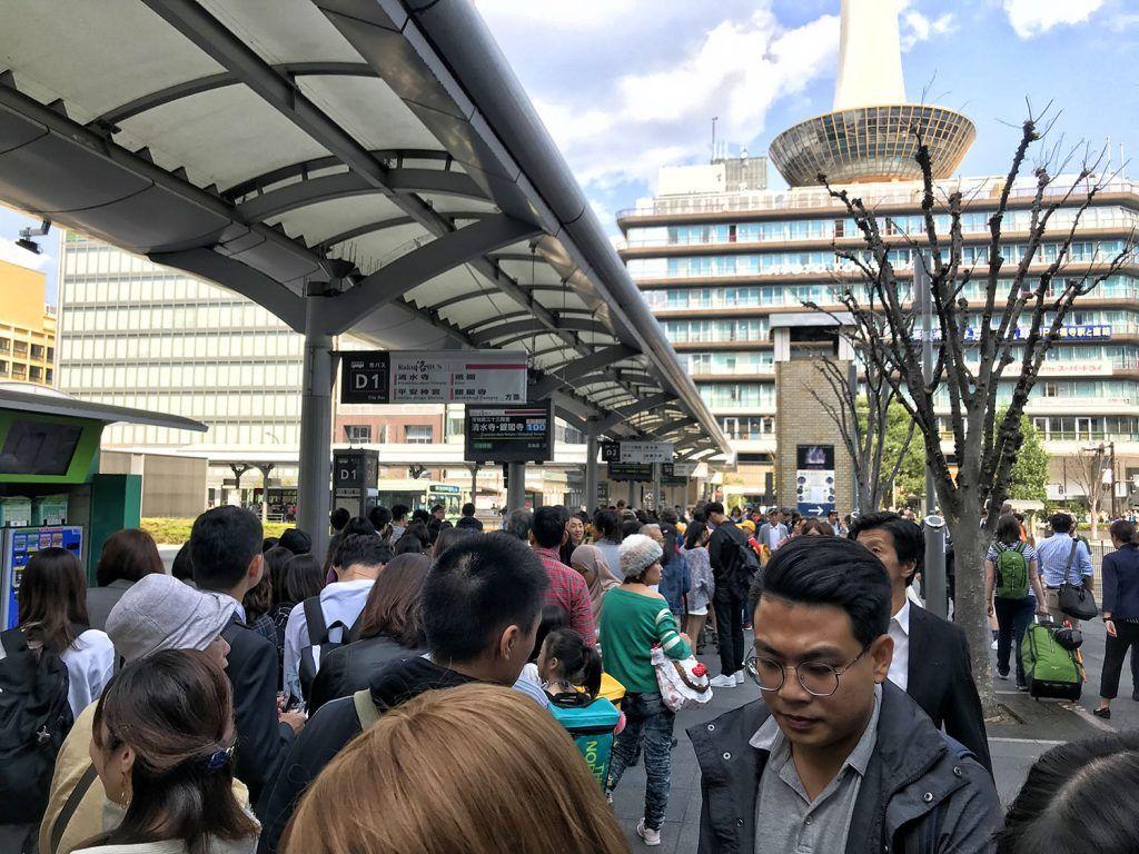 Cómo moverse por Kioto: estación de autobuses - Transporte en Japón - dónde dormir en Kioto