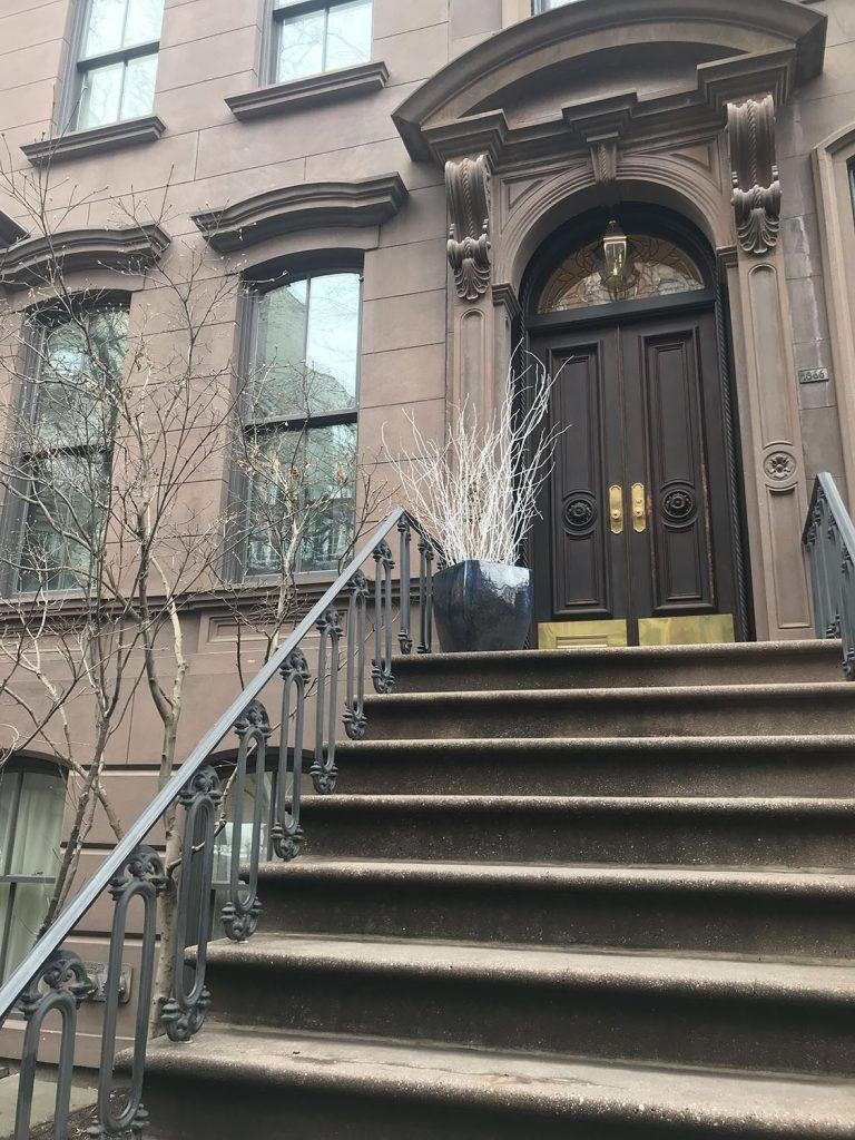 Greenwich Village: Fachada del apartamento de Carrie Bradshaw