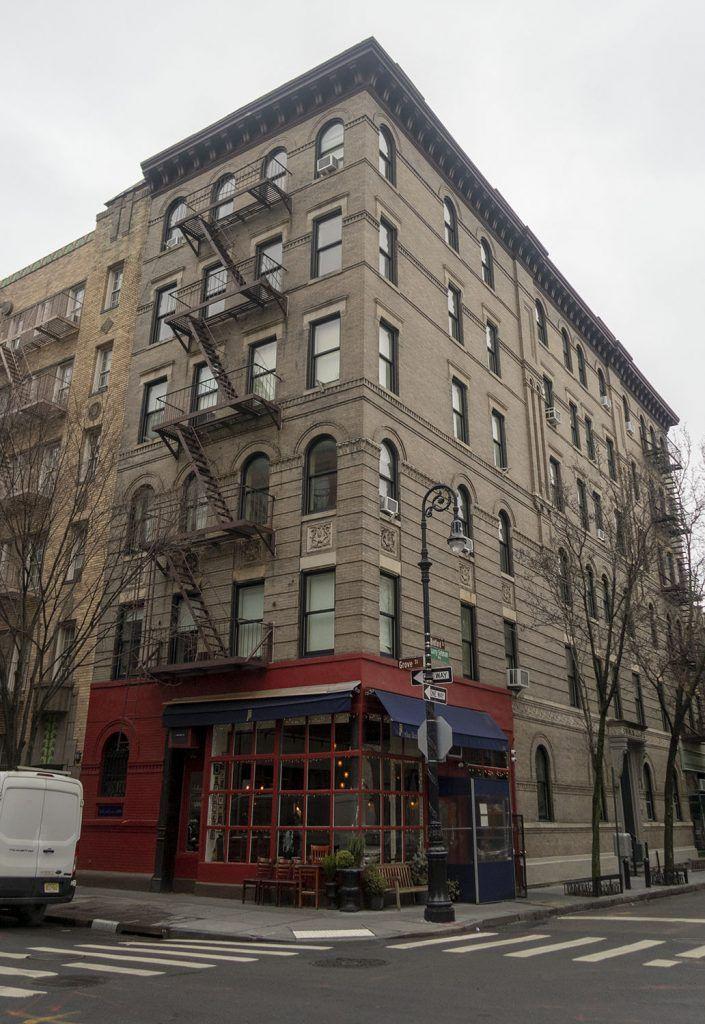 Greenwich Village: Fachada de Friends