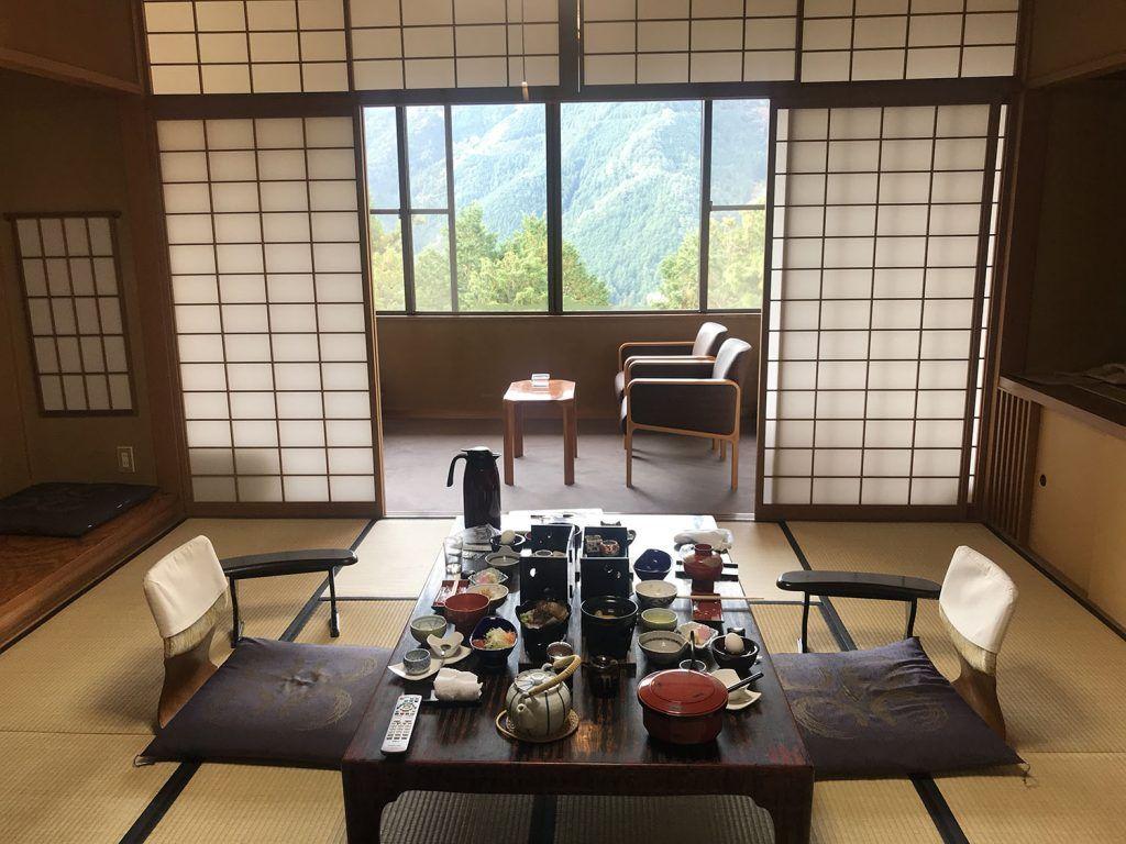 Dormir en un ryokan: Yunoshimakan