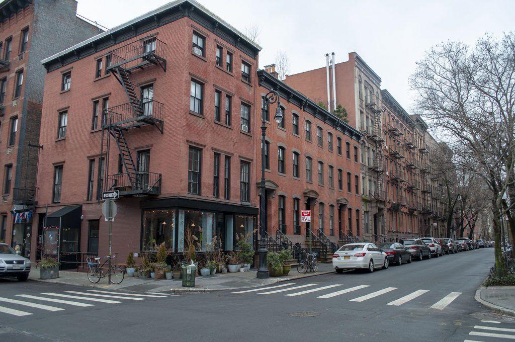 Fachadas en Greenwich Village