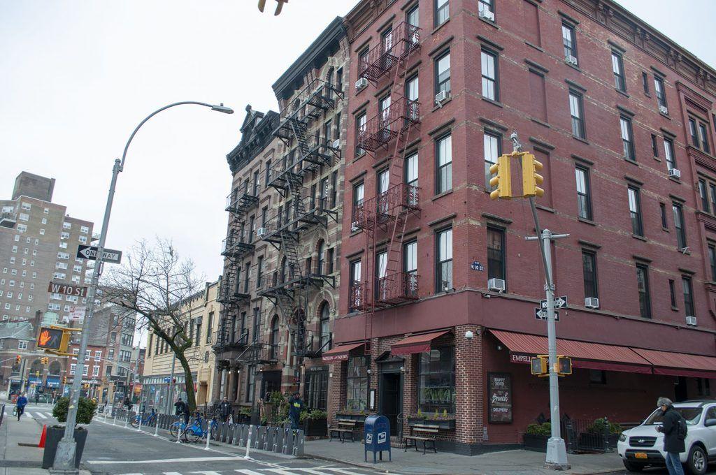 Fachadas en Greenwich Village - Los 5 mejores FREE tours por Nueva York gratis y en español
