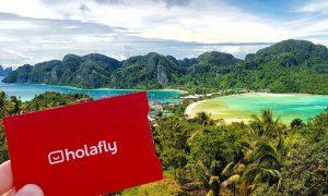 Holafly, la mejor tarjeta SIM para viajar [+5% DE DESCUENTO]
