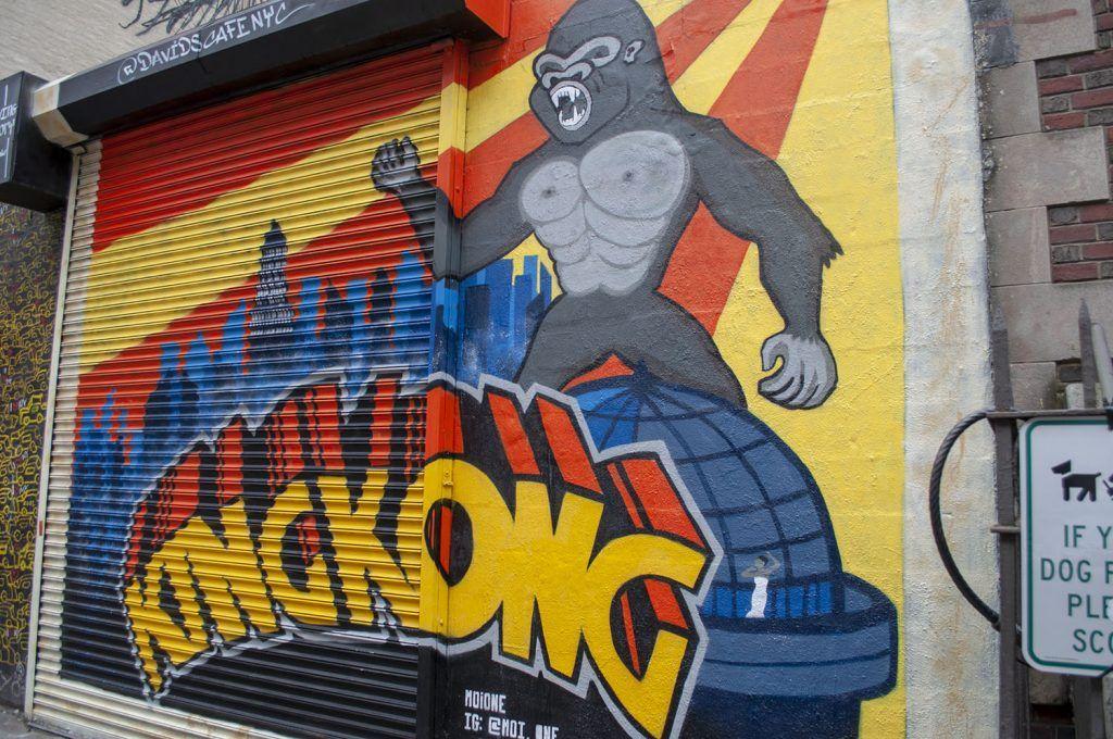 Mural en Greenwich Village