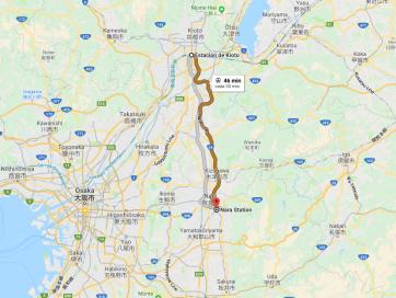 Cómo ir de Kioto a Nara [OPCIONES + PRECIOS + DURACIÓN]