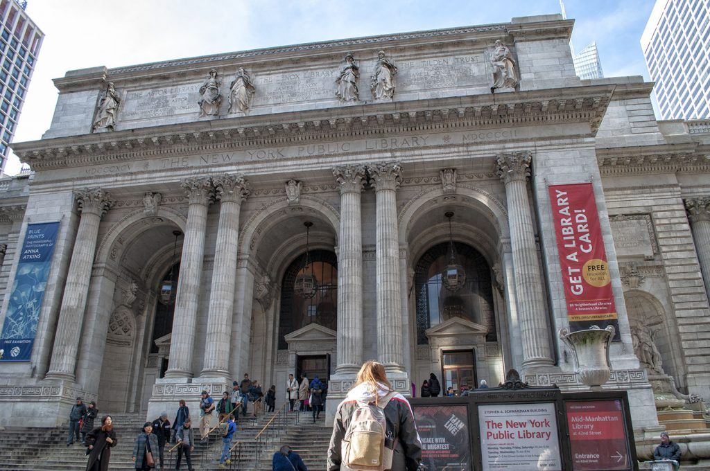 Midtown: New York Public Library