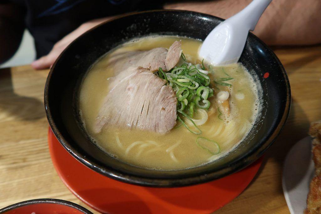 Dónde comer en Nara: ramen en Tekaippin - dónde comer en Japón