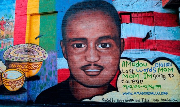 Qué ver y hacer en el Bronx: Mural de Amadou Diallo
