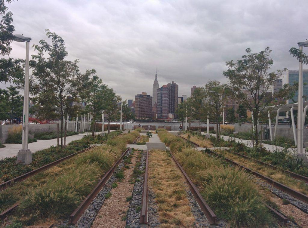 Qué ver en Queens: Gantry Plaza State Park