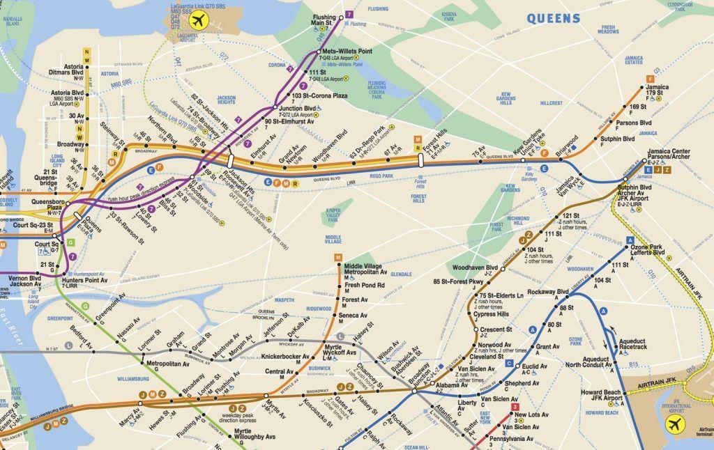 Cómo llegar a Queens