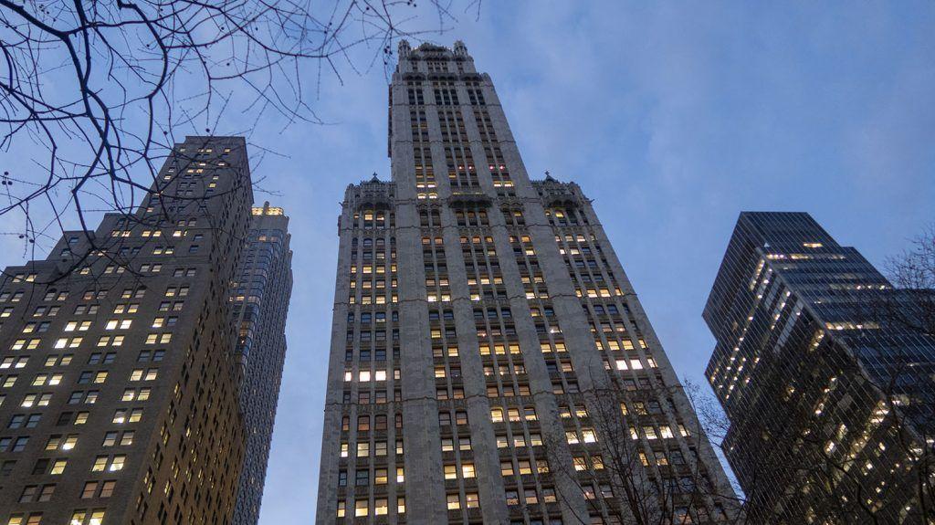Qué ver en Wall Street: Edificio Woolworth