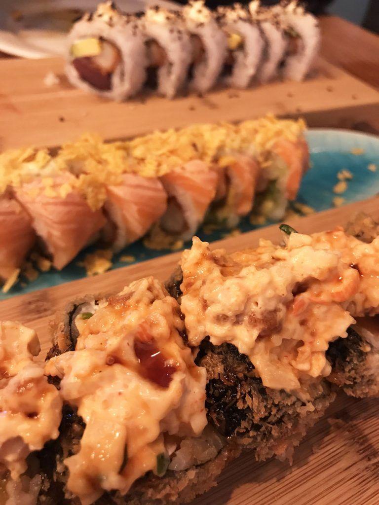 Sushi Rolls en Sákale
