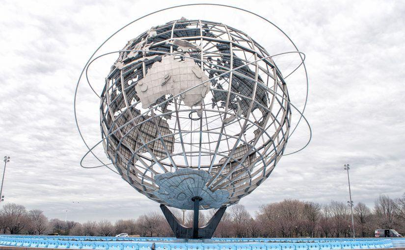 Qué ver en Queens: Unisphere - tour de contrastes
