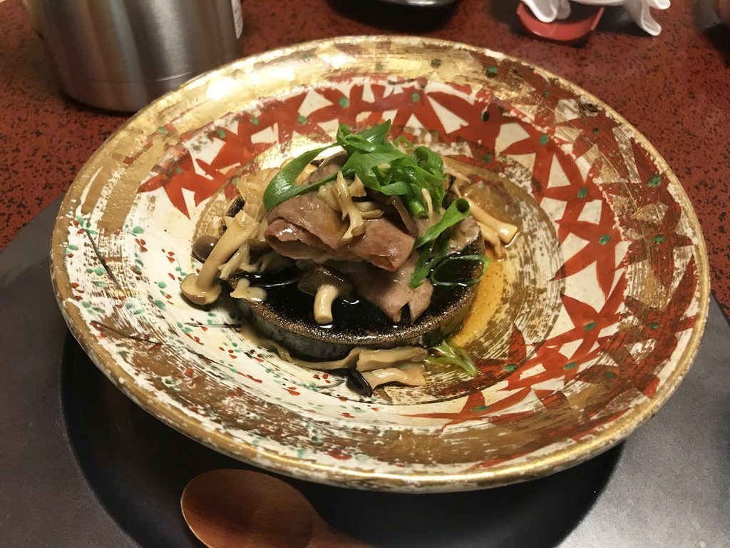Cena en el Iwaso