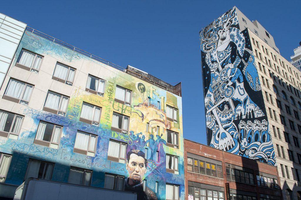 Qué ver y hacer en Chinatown: Graffitis
