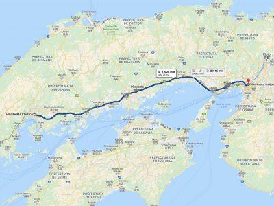 Cómo ir de Hiroshima a Osaka [OPCIONES + PRECIOS + DURACIÓN]