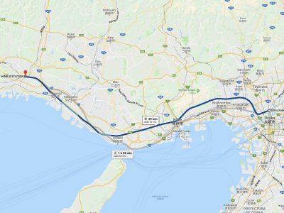 Cómo ir de Osaka a Himeji [OPCIONES + PRECIOS + DURACIÓN]