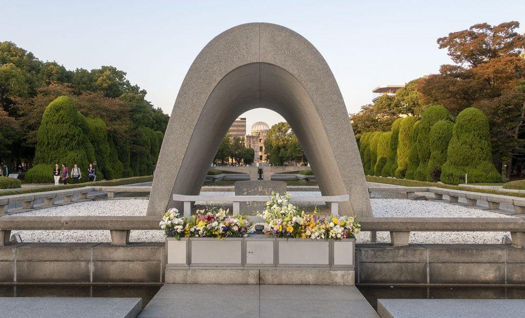 Qué ver en Hiroshima: Cenotafio de la Paz