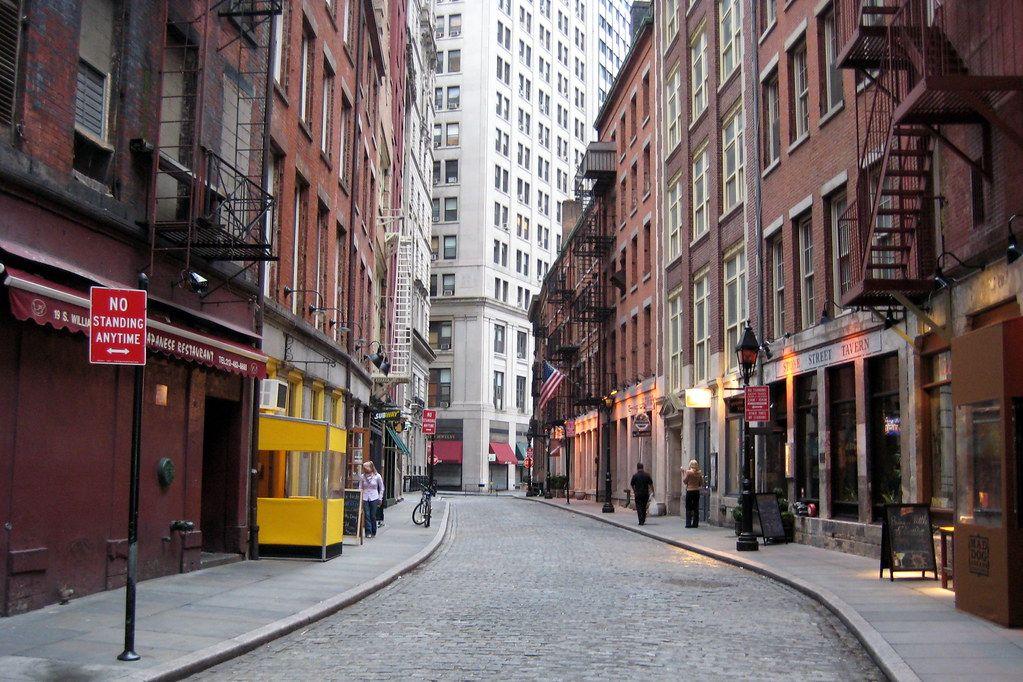 Qué ver en Wall Street: Stone Street