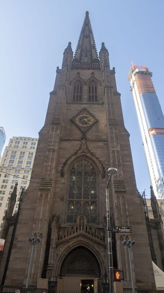 Qué ver en Wall Street: Trinity Church