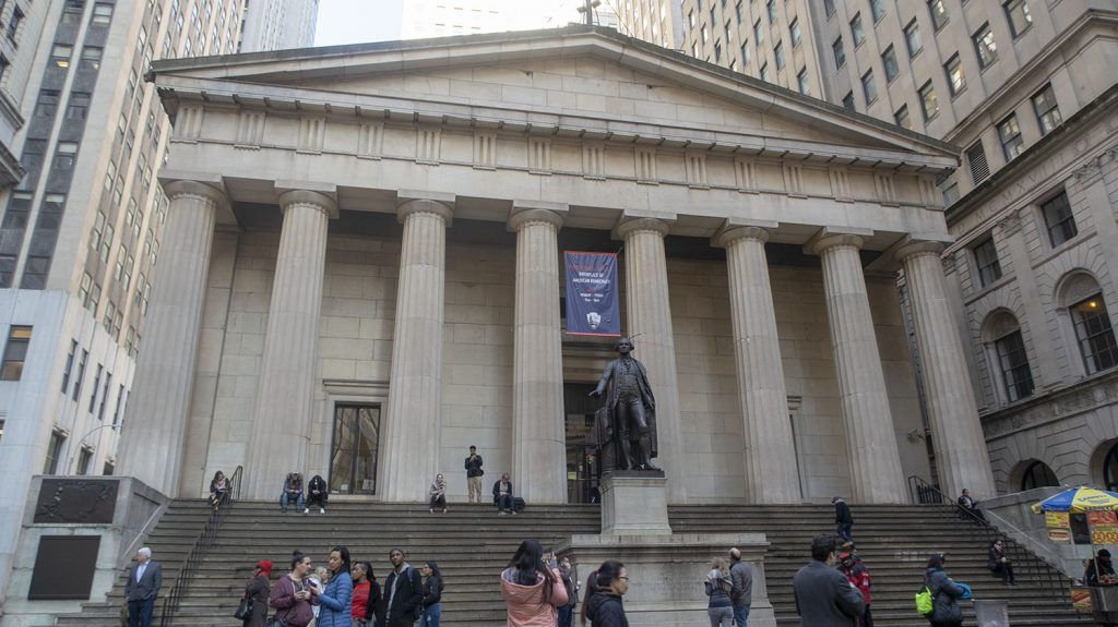 Qué ver en Wall Street: Federal Hall