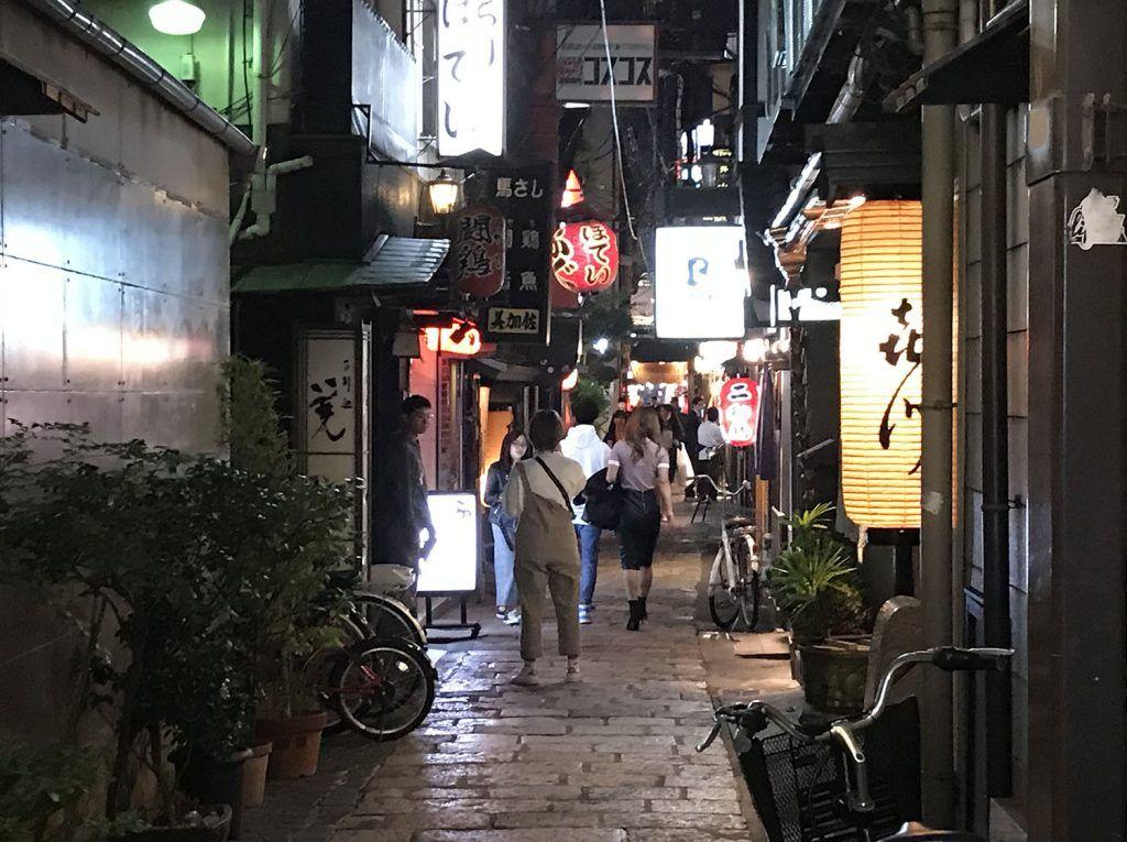 Dónde comer en Osaka: Hozenji Yokocho