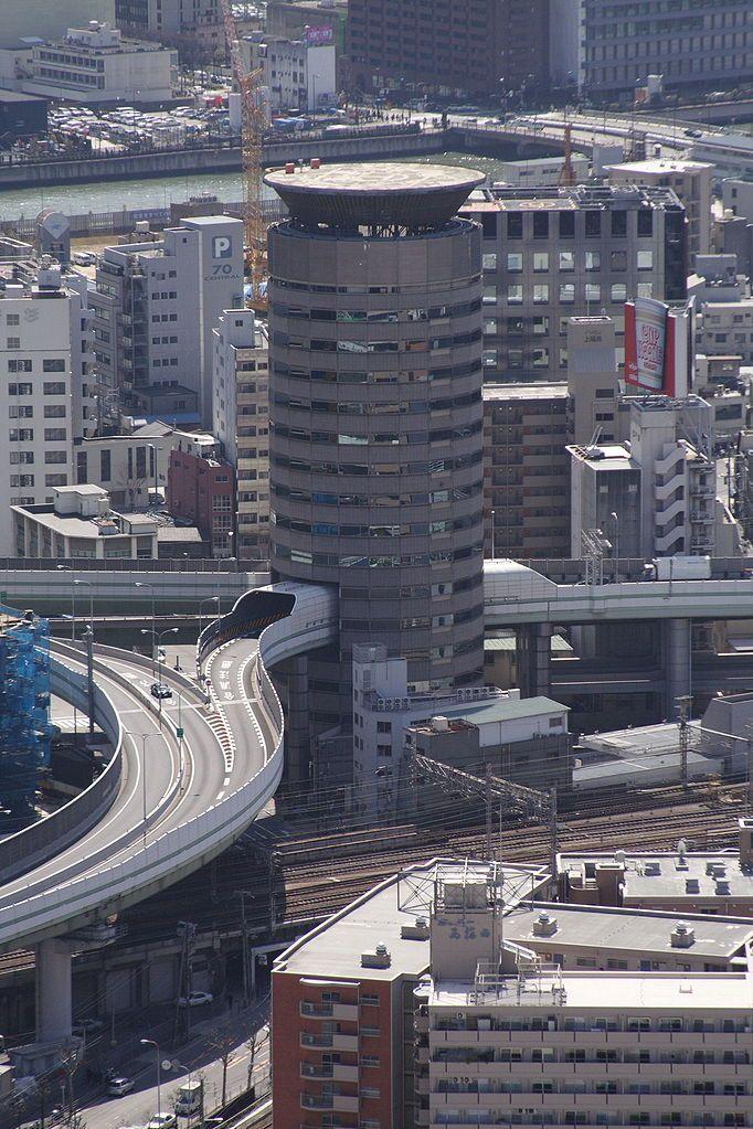Qué ver en Osaka: Gate Tower Building