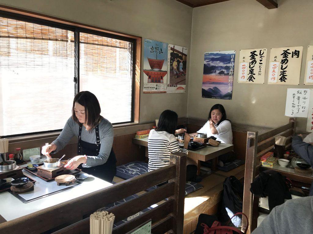 Dónde comer en Koyasan