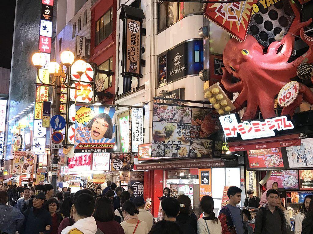 Qué ver en Osaka: Dotombori - dónde dormir en Osaka