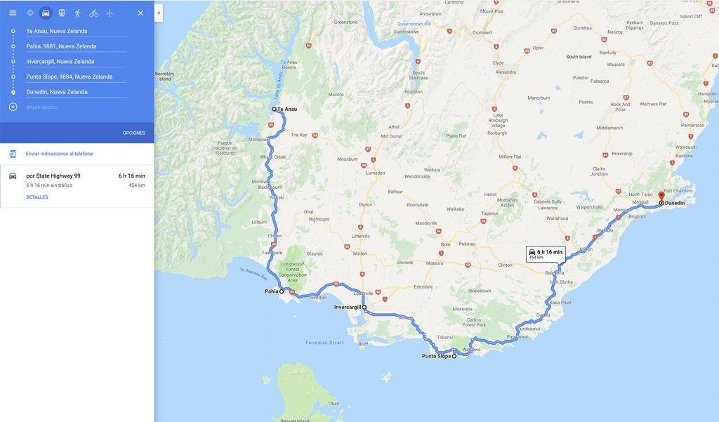 Cómo organizar un viaje por tu cuenta: Mapa