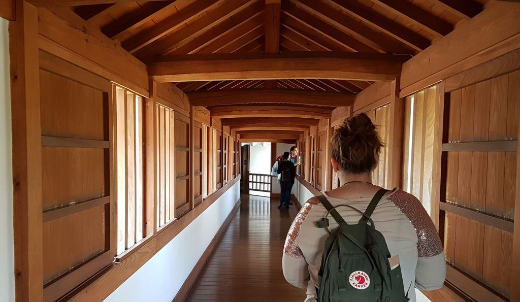 Qué ver en Himeji: interior del castillo de Himeji