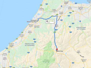 Cómo ir de Kanazawa a Shirakawago [OPCIONES + PRECIOS + DURACIÓN]