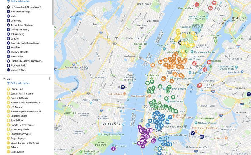 Cómo organizar un viaje por tu cuenta: Mapa de ciudad