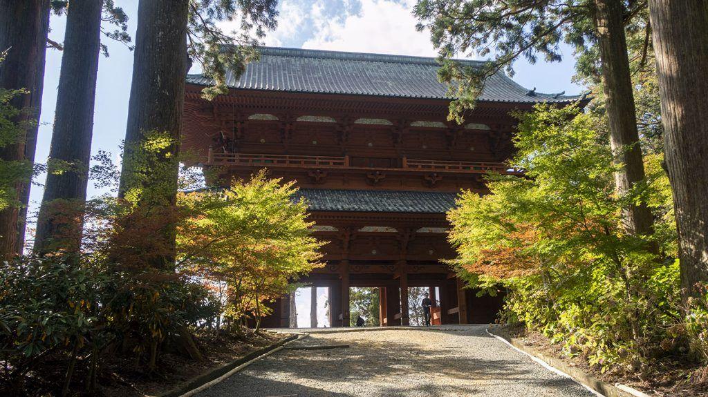 Qué ver en Koyasan: Puerta Daimon