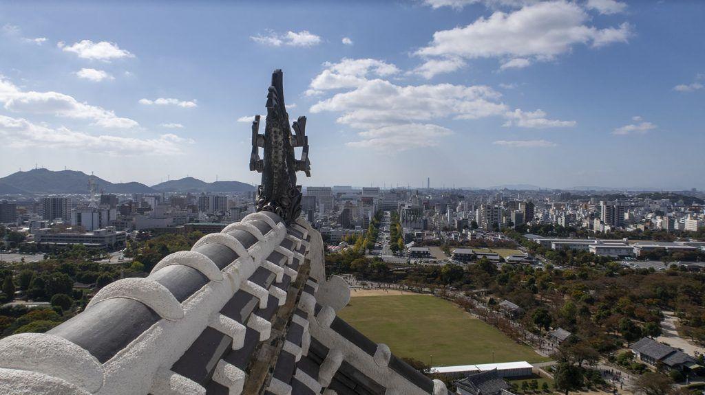 Qué ver en Himeji: vistas desde el castillo de Himeji