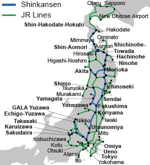 Transporte en Japón: JR East Pass South Hokkaido