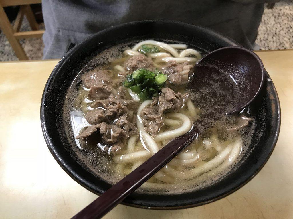 Udon en Kanazawa - dónde comer en Japón