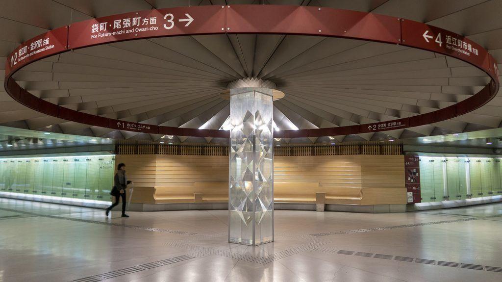Qué ver en Kanazawa: Cruce subterráneo en Kanazawa