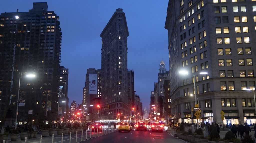 Qué ver y hacer en Union Square y Flatiron District: Flatiron Building - mapa de Nueva York