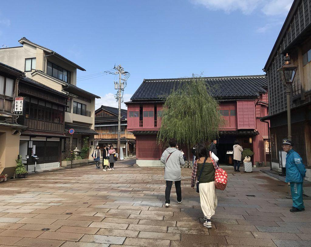 Qué ver en Kanazawa: Barrio de Geishas Higashi Chaya