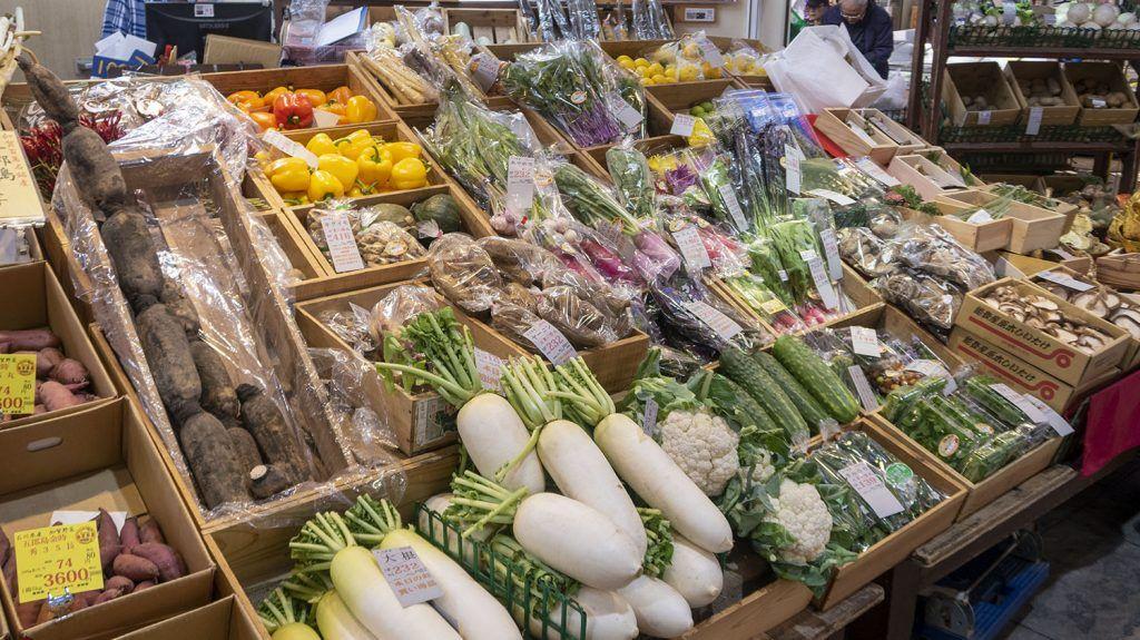 Qué ver en Kanazawa: Mercado de Omicho