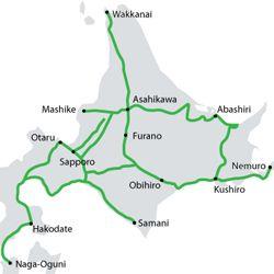 Transporte en Japón: JR Hokkaido Pass