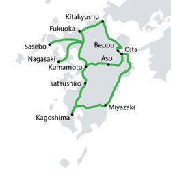 Transporte en Japón: All Kyushu Pass