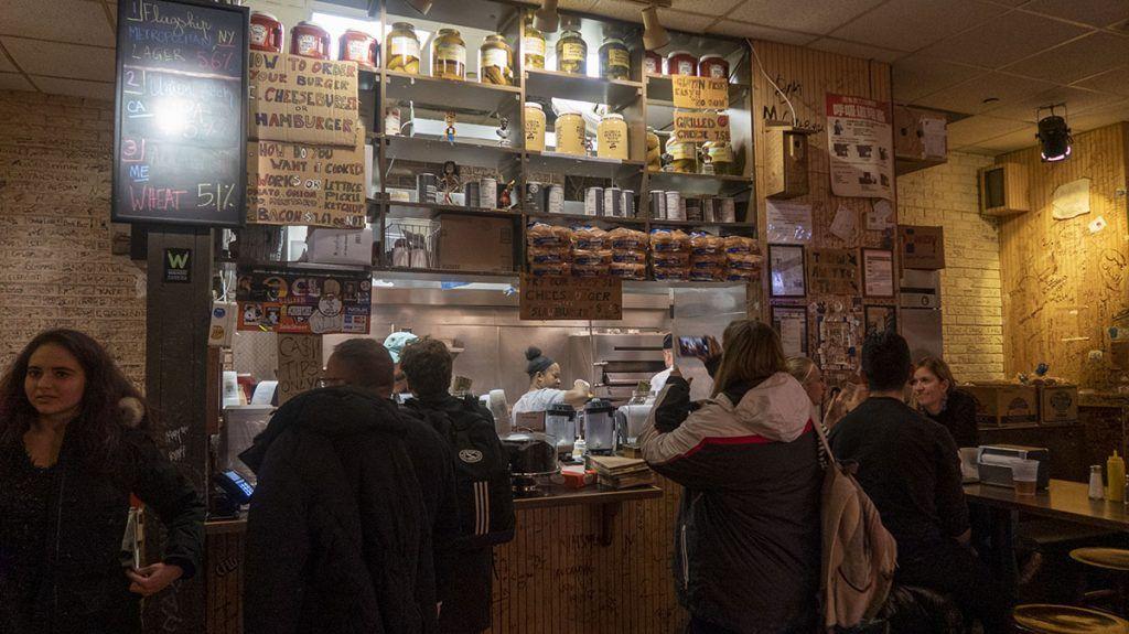 ¿Dónde está la mejor hamburguesa de Nueva York? Burger Joint