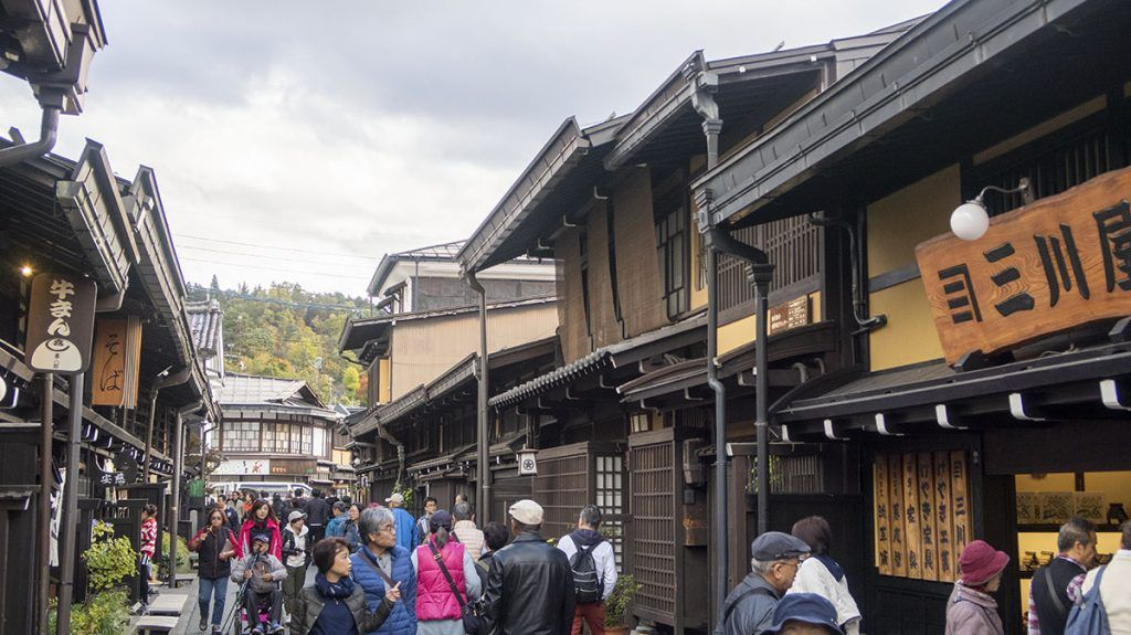 Qué ver en Takayama: Sanmachi Suji