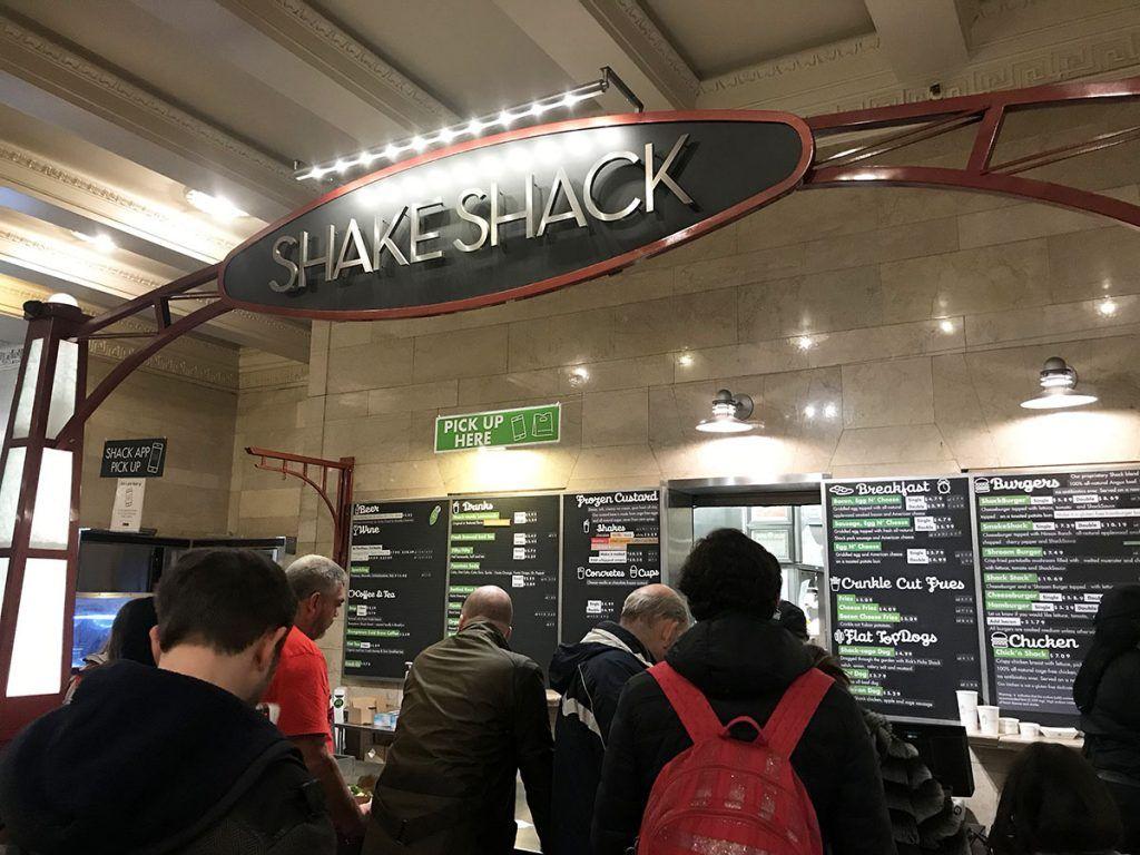 ¿Dónde está la mejor hamburguesa de Nueva York? Shake Shack