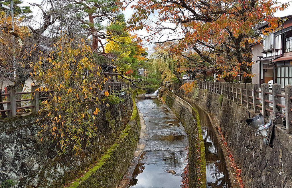 Qué ver en Takayama: canales de Takayama