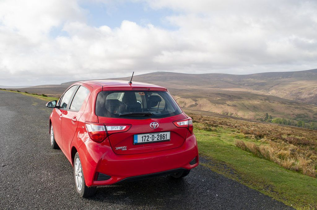 Guía de Irlanda: nuestro coche de alquiler