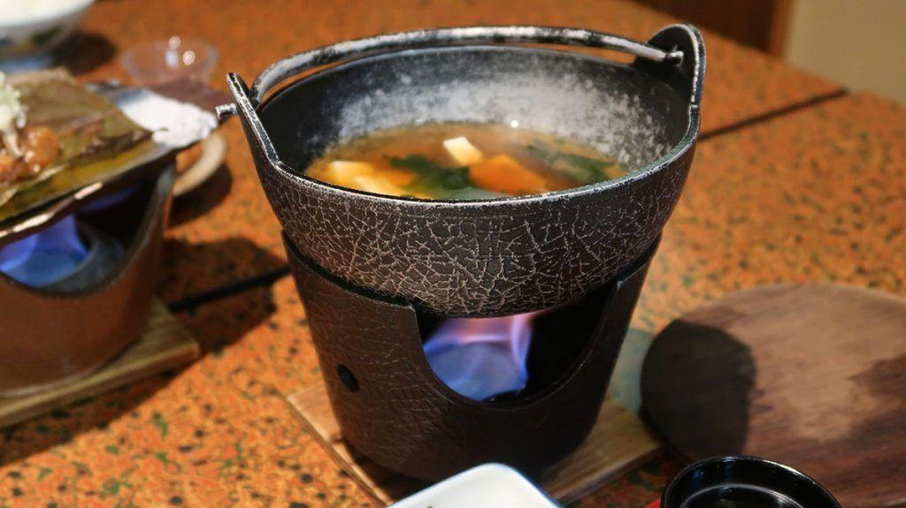 El desayuno en el Hiratakan